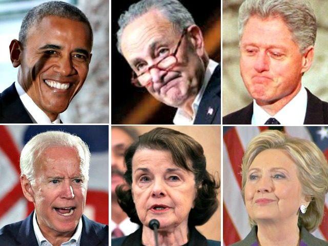 Obama-Schumer-Clinton-Clinton-Feinstein-Biden
