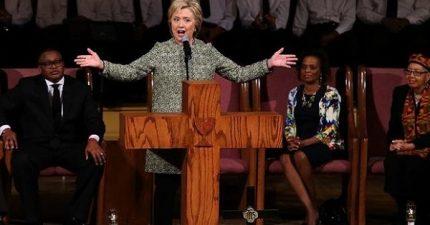 HillaryPreaches