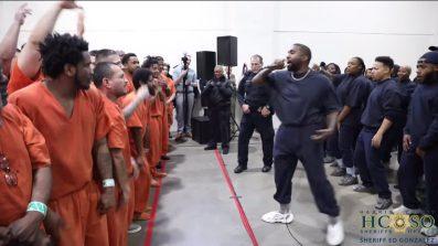 Kanye West Houston Jail