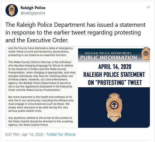 RaleighPoliceTweet