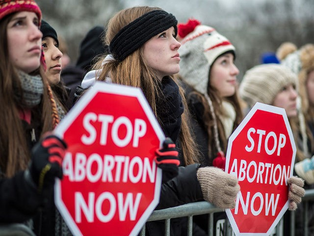 Pro-life-protesters