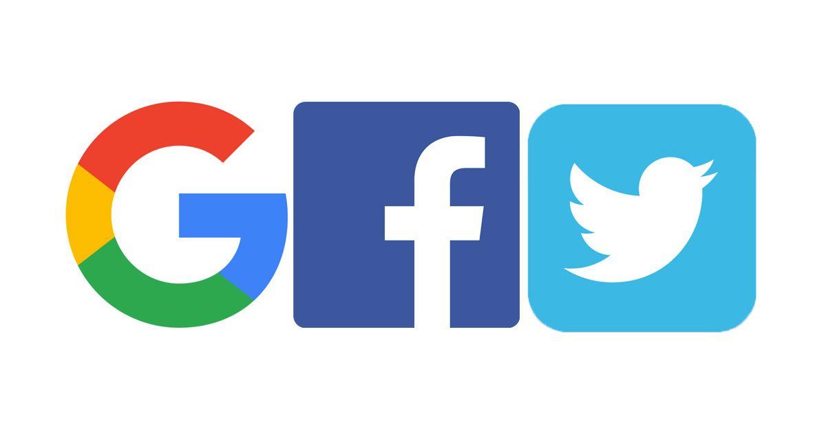 GoogleFacebookTwitter